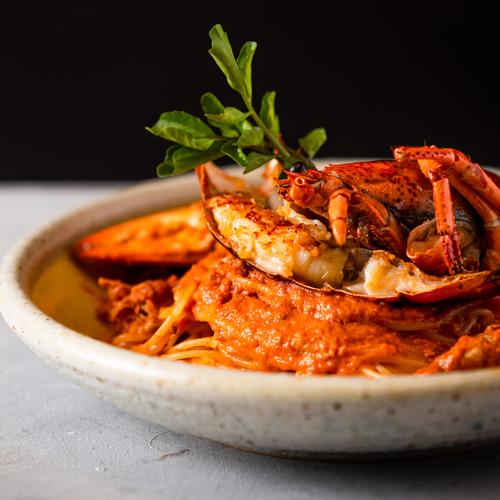 Homal and Crab Pasta